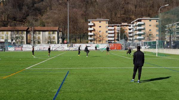 Lugano, percorso atletico sul sintetico in preparazione all'esercizio in cui era primario il «piacere di segnare»