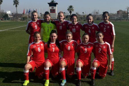 Amichevoli internazionali, primo test in terra turca senza reti per la più giovane selezione nazionale rossocrociata femminile
