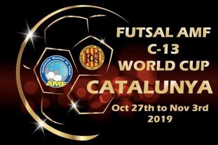 Calcio a 5 AMF:  la Nazionale Svizzera C13 inserita nel Gruppo B della Coppa del Mondo AMF