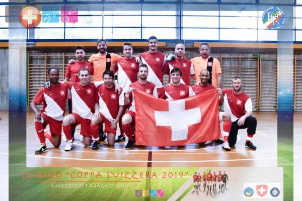 Calcio a 5 AMF: grande spettacolo a Breganzona tra Svizzera e Italia Over 40!