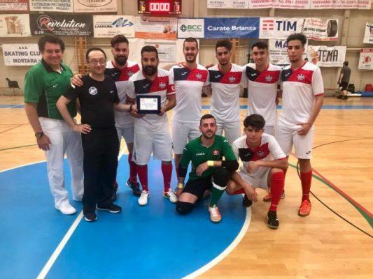 Calcio a 5 AMF:  Il Team Ticino Lugano disputerà le Finali Scudetto a Follonica (Italia)