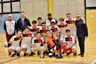Calcio a 5 AMF: il Team Ticino Lugano Vince la Coppa Ticino C20 2019