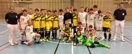 Calcio a 5 AMF: Team Ticino Lugano Vince la Coppa Ticino 2019 C13!