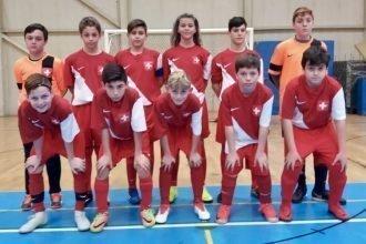 Calcio a 5 AMF:  La Nazionale Svizzera C13 chiude all'11°posto la Coppa del Mondo AMF C13