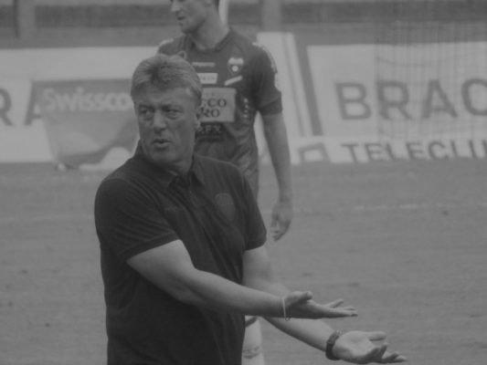 Marco Schällibaum : uno degli ultimi allenatori del FC Chiasso